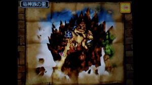No.116 竜神族の里の金のスライムの位置