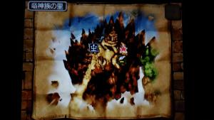 No.117 竜神族の里の金のスライムの位置
