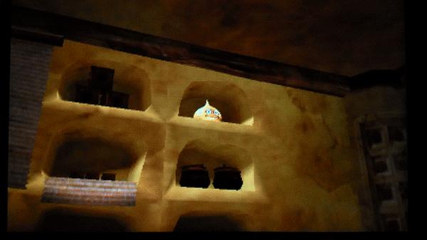 No.117 竜神族の里の金のスライムのズーム画像